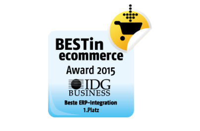 Best in ecommerce Award 2015 IDG Business