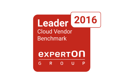 Experton Leader - Cloud Vendor Benchmark 2016