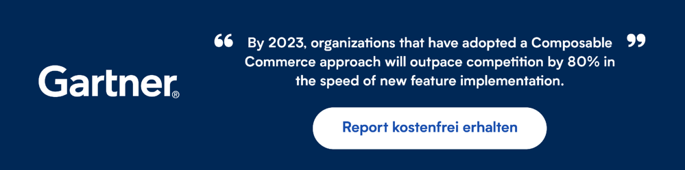 Gartner Composable Commerce Quote