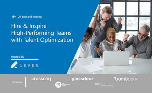 Watch Rethinking Your Business Strategy with Talent Optimization on-demand today!
