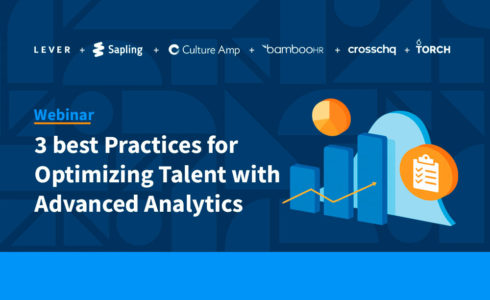 Watch Best Practices for Optimizing Talent with Advanced Analytics on-demand today!