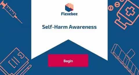 Self-Harm Awareness Training Course Screenshot