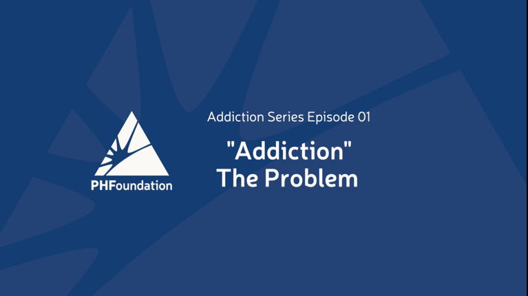 Addiction Series premieres with 1st episode - Addiction, The Problem