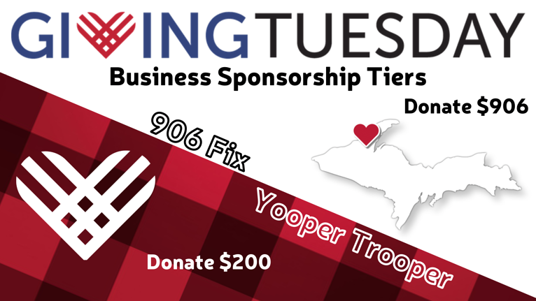 Copper Country businesses invited to support local non-profit community this Giving Tuesday