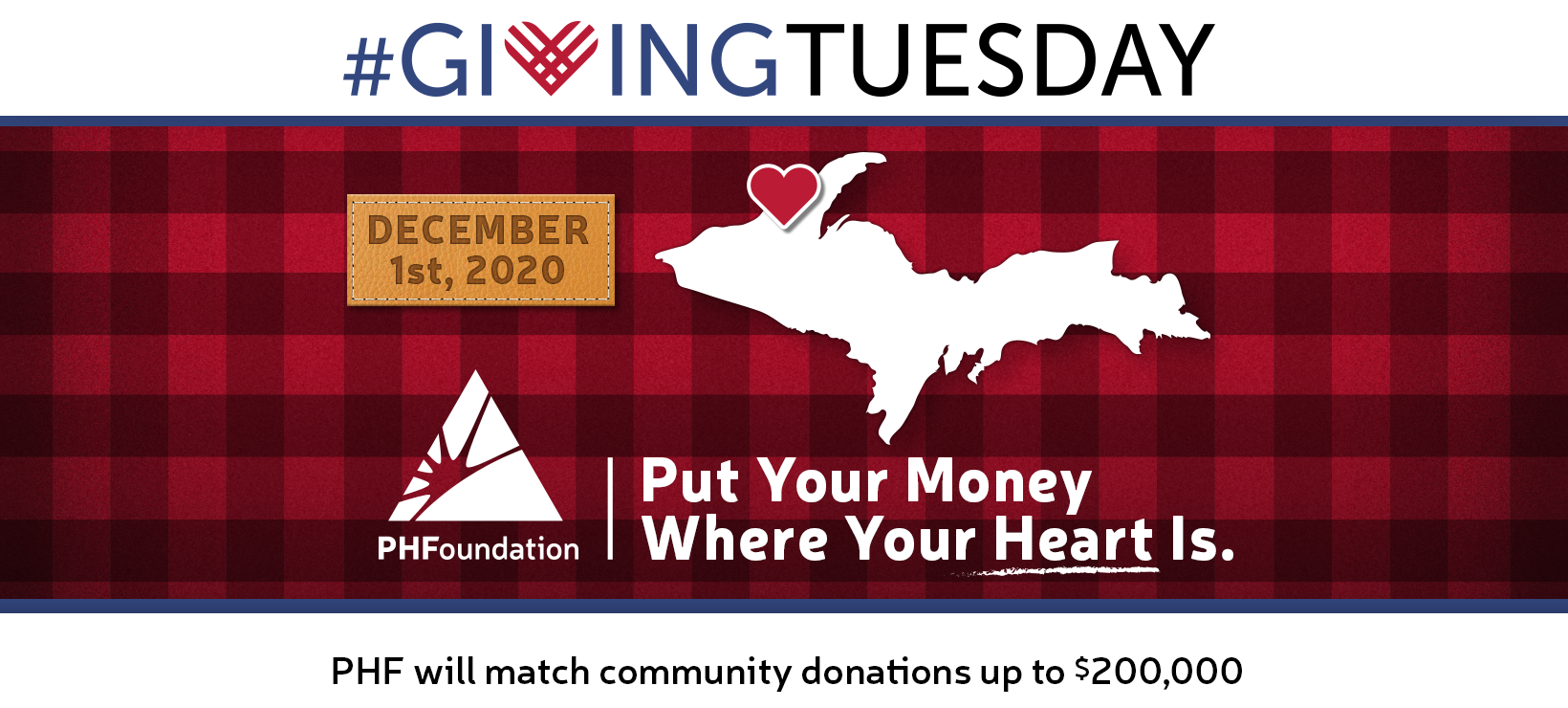 PHF's Giving Tuesday to include 18 non-profits and up to a $200,000 match in 2020