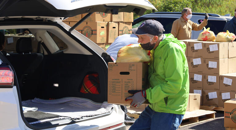 October Mobile Food Pantry Schedule