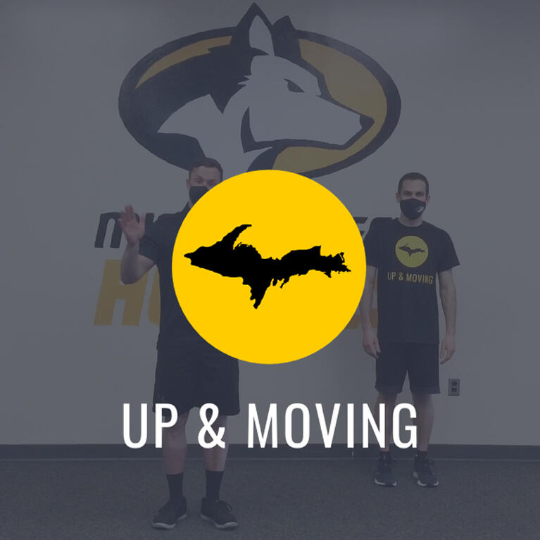 Podcast: UP and Moving just getting started after 100 workouts