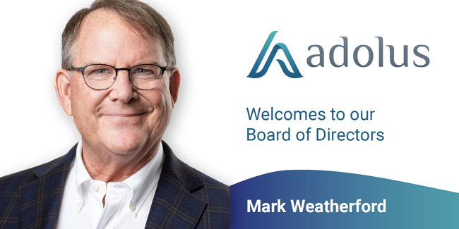 Mark Weatherford appointed to aDolus Board of Directors