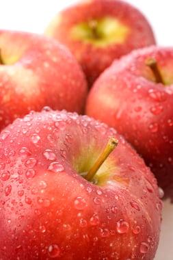 In een appel zitten meer en betere vitaminen dan in welk ander fruit dan ook.