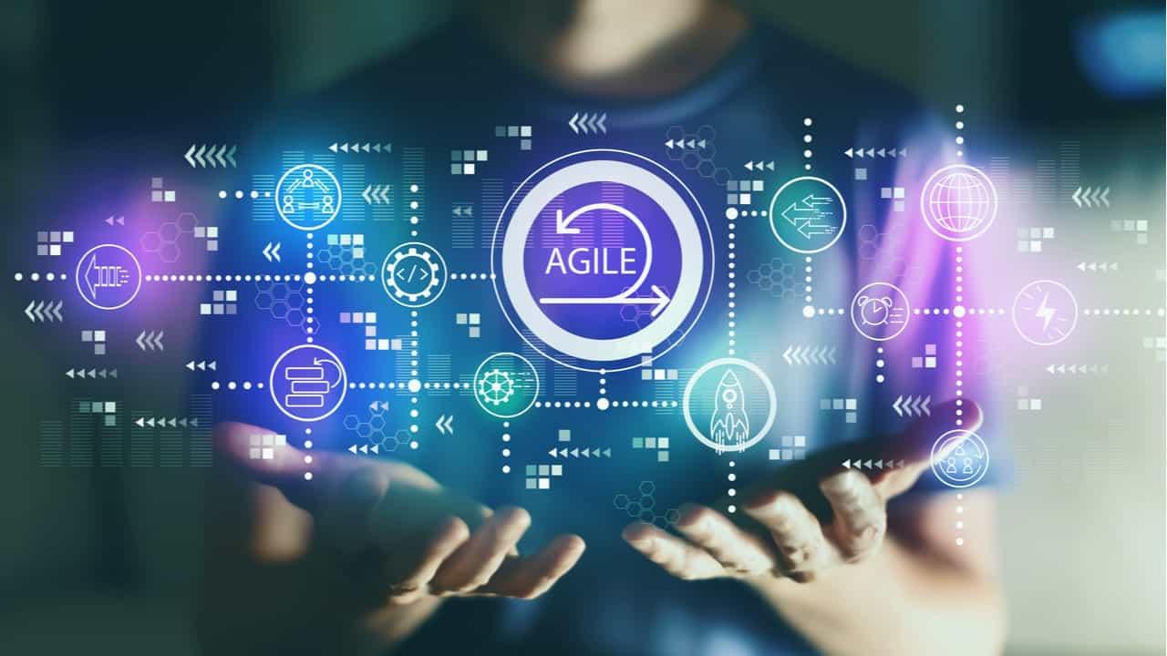 agile concepto de agilidad en procesos digitales