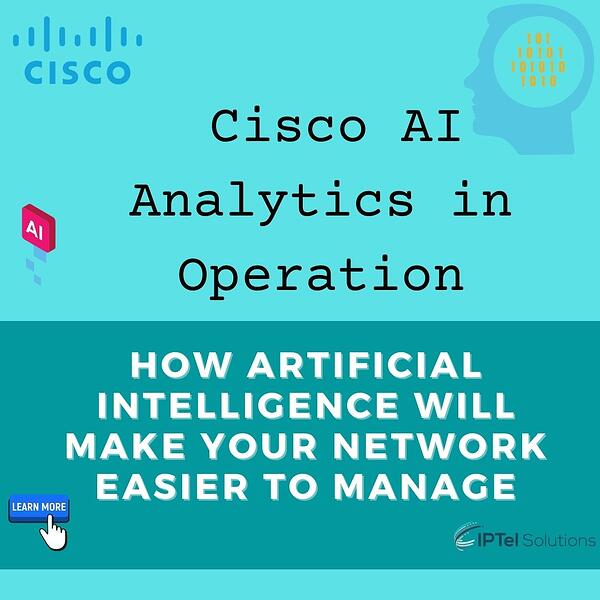 Cisco AI Analytics in Operation