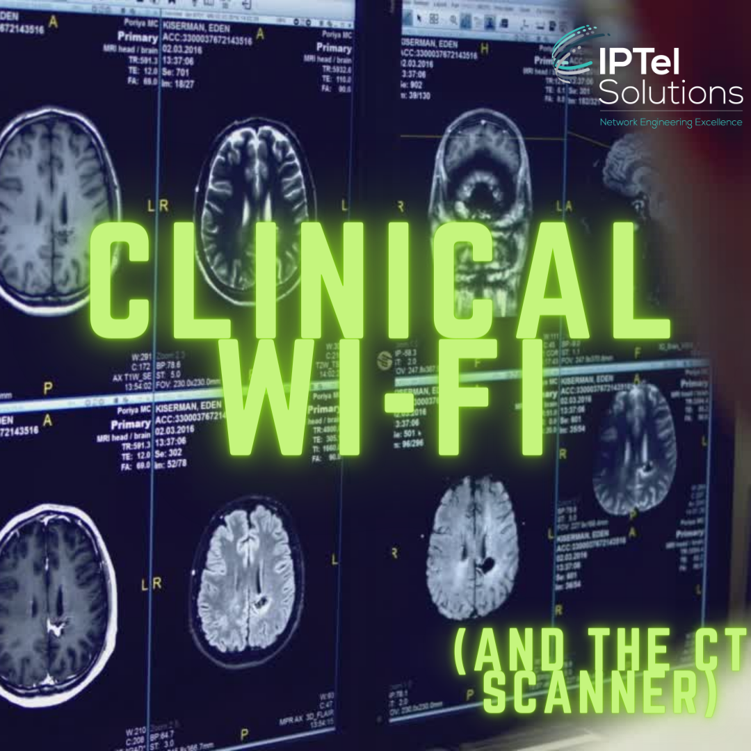 Clinical Wi-Fi and the CT Scanner