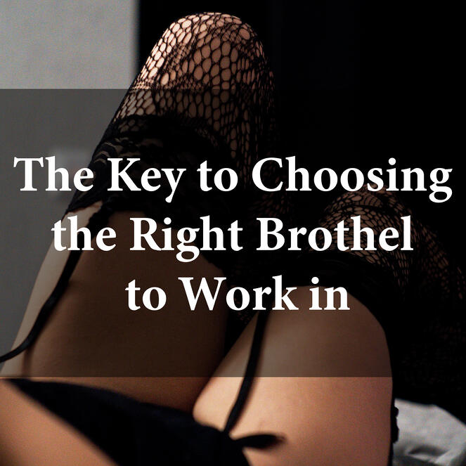 The key to choosing the right brothel to work in