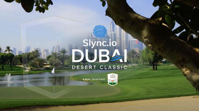 Slync.io becomes new title sponsor of the Dubai Desert Classic