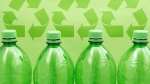 matière plastique recyclée pour l'économie circulaire