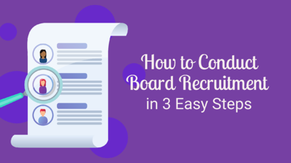 Free Webinar - How to Conduct Board Recruitment in 3 Easy Steps