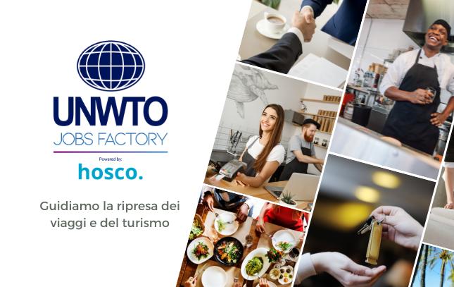 L'OMT collabora con Hosco per lanciare la piattaforma Jobs Factory