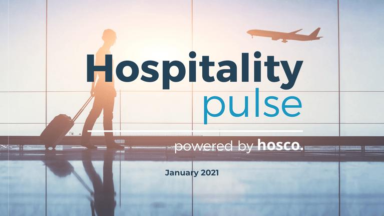 January's Survey: COVID's Impact on the Hospitality Industry