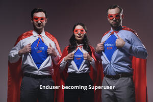 Vince Live - Transform Your Users into Superusers