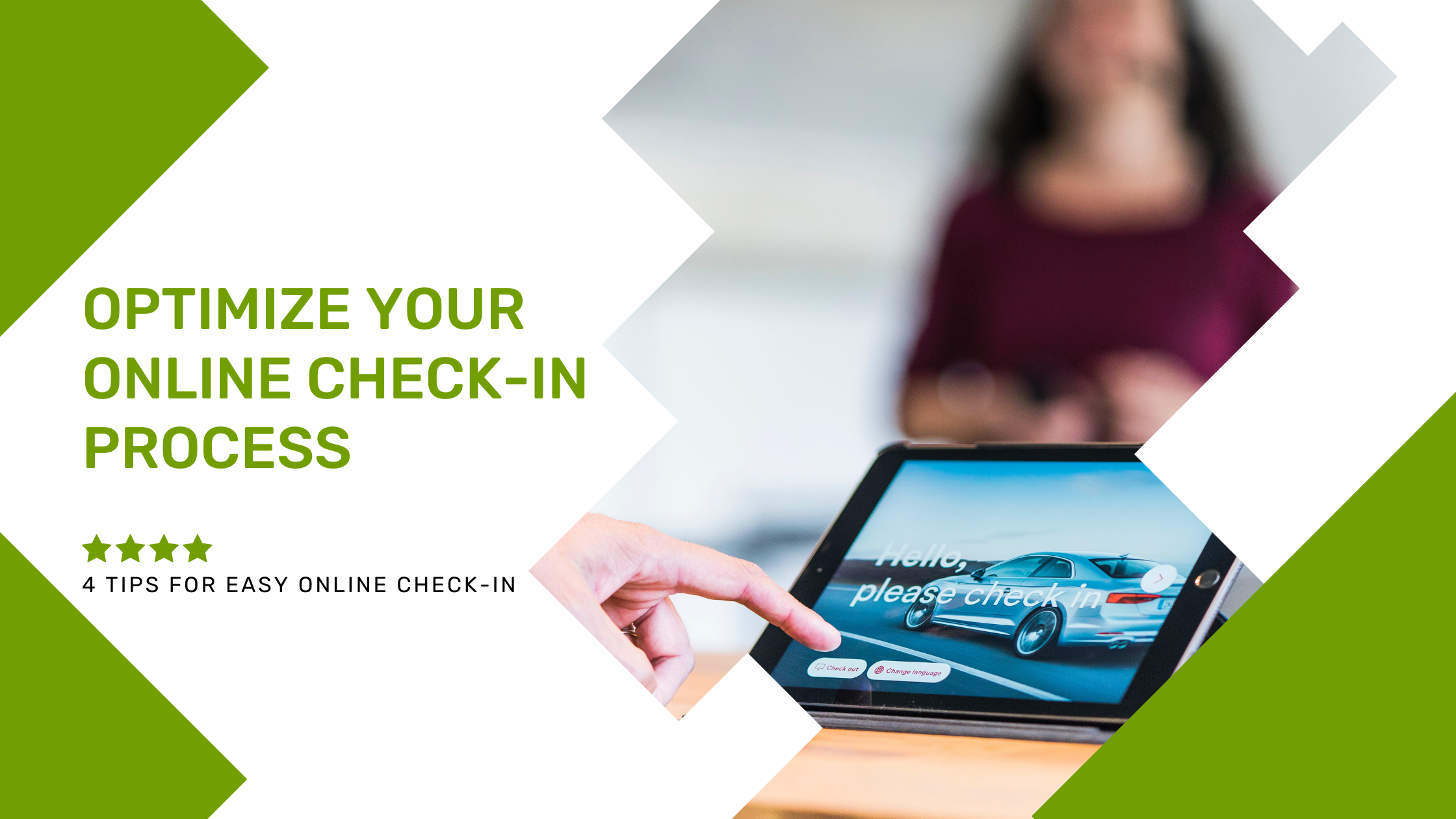 Optimize Your Online Check-in Process: 4 Tips
