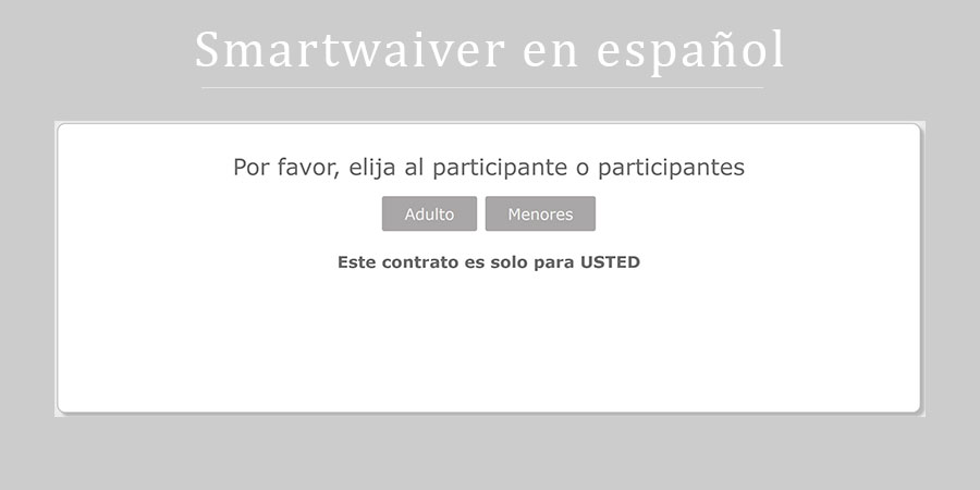 Spanish Waivers Are Available!