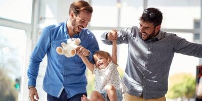 Do gay parents raise happier kids