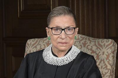 Ruth Bader Ginsberg - LGBTQ Rights Champion
