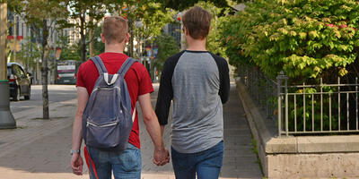 Studies show that more gay teen boys are becoming more comfortable coming out