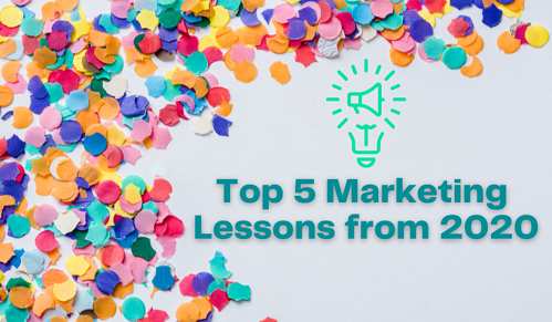 A Year in Review: Top 5 Marketing Lessons from 2020