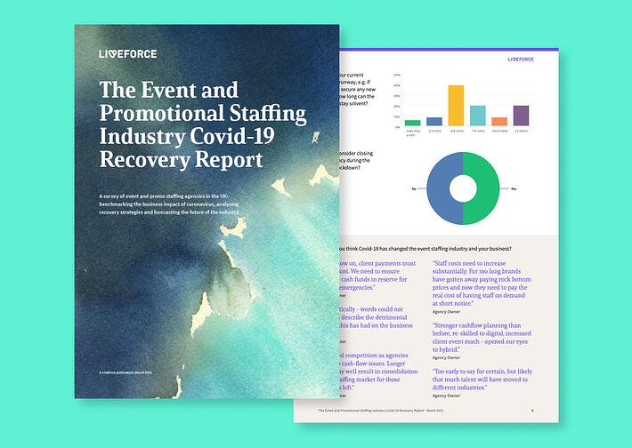 The Event and Promo Staffing Industry loses 50% of its workforce