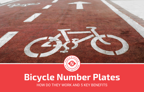 5 Key Benefits of Bicycle Number Plates