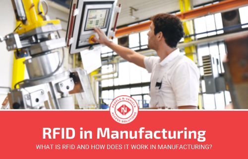 How Does RFID in Manufacturing Work? (Simple Guide)