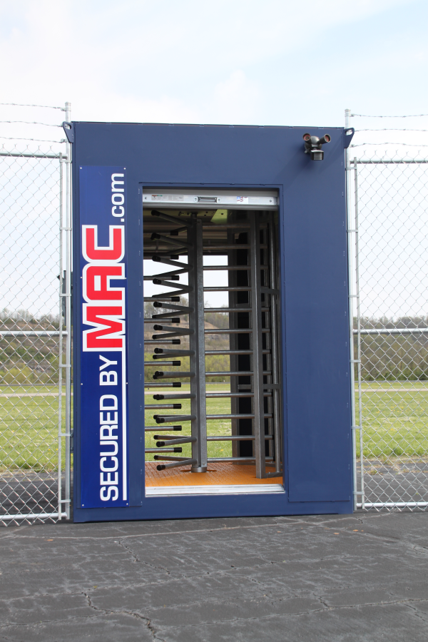 mac portal with 1 turnstile, one turnstile, turnstile, 1 turnstile