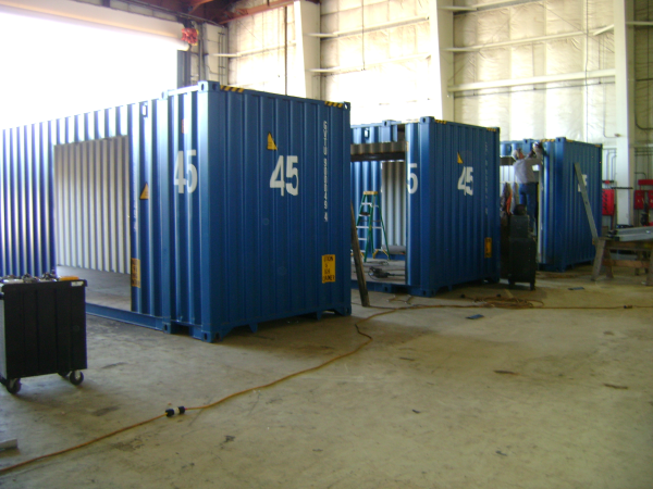 turnstile, turnstiles, container turnstiles, turnstile container, guardhouse with turnstiles, guard shack with turnstiles