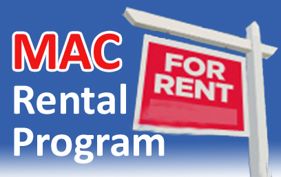 Rental Program, MAC Rental Program, MAC Portal Rental Program