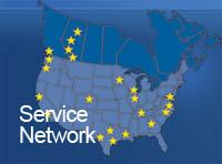 MAC Portal Service Network, MSSI Service Network, Boon Edam Turnstiles in a MAC