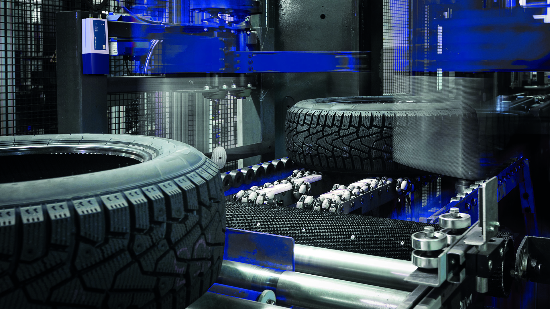 Tyre production chain