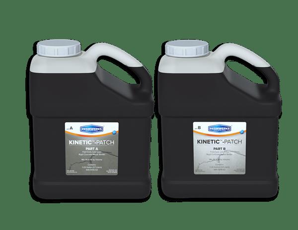 fast cure no odor concrete repair resinwerks kinetic patch 1