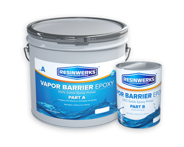 resinwerks vapor barrier epoxy 100% solids