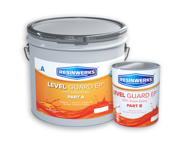 level guard 100% solids high traffic epoxy 1