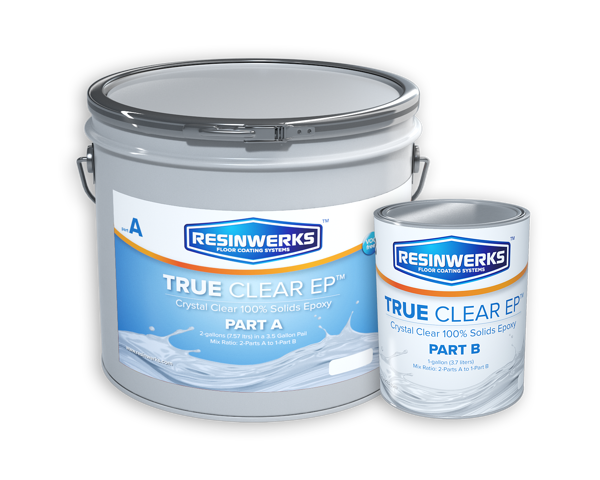 non yellowing water clear epoxy resinwerks true clear 1