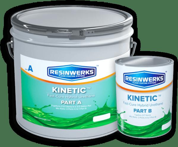 polyaspartic coating resinwerks kinetic 1