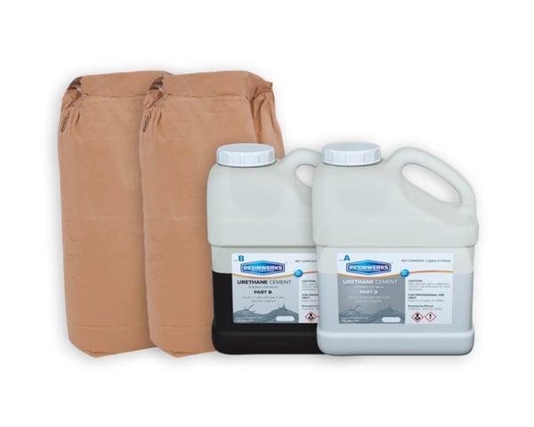 resinwerks bio cem urethane cement cove base kit 1