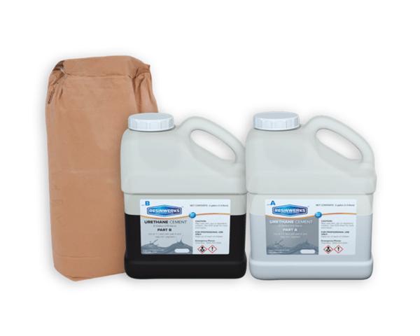 resinwerks bio cem urethane cement slurry kit 1