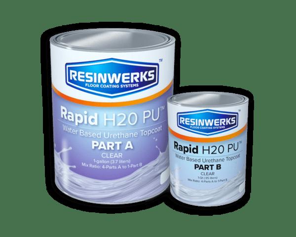 rapid h2O polyurethane topcoat 1