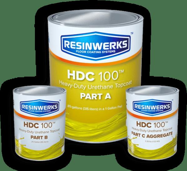 resinwerks hdc 100 high traffic urethane kit 1
