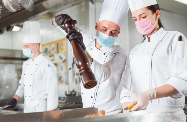 How many chefs do you have in your inventory planning kitchen?