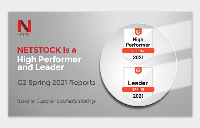 NETSTOCK - High Performer and Leader in G2 Spring 2021 Grid® Reports