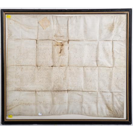 An Important Collection of Early American Documents and Ephemera at Alex Cooper
