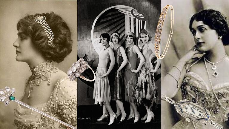 Similar Yet Distinct: How to Tell the Difference Between Edwardian & Art Deco Jewelry